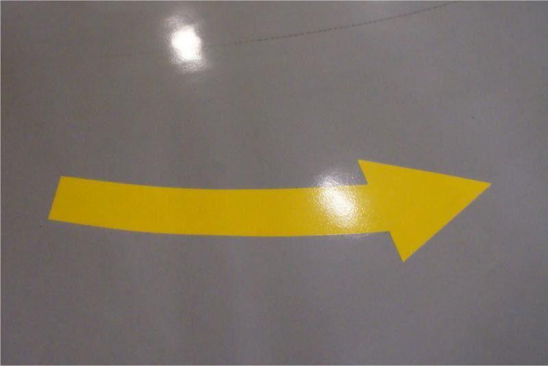 Pintura de faixa de sinalização