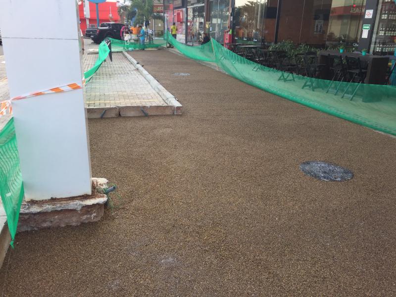 Revestimento de piso industrial